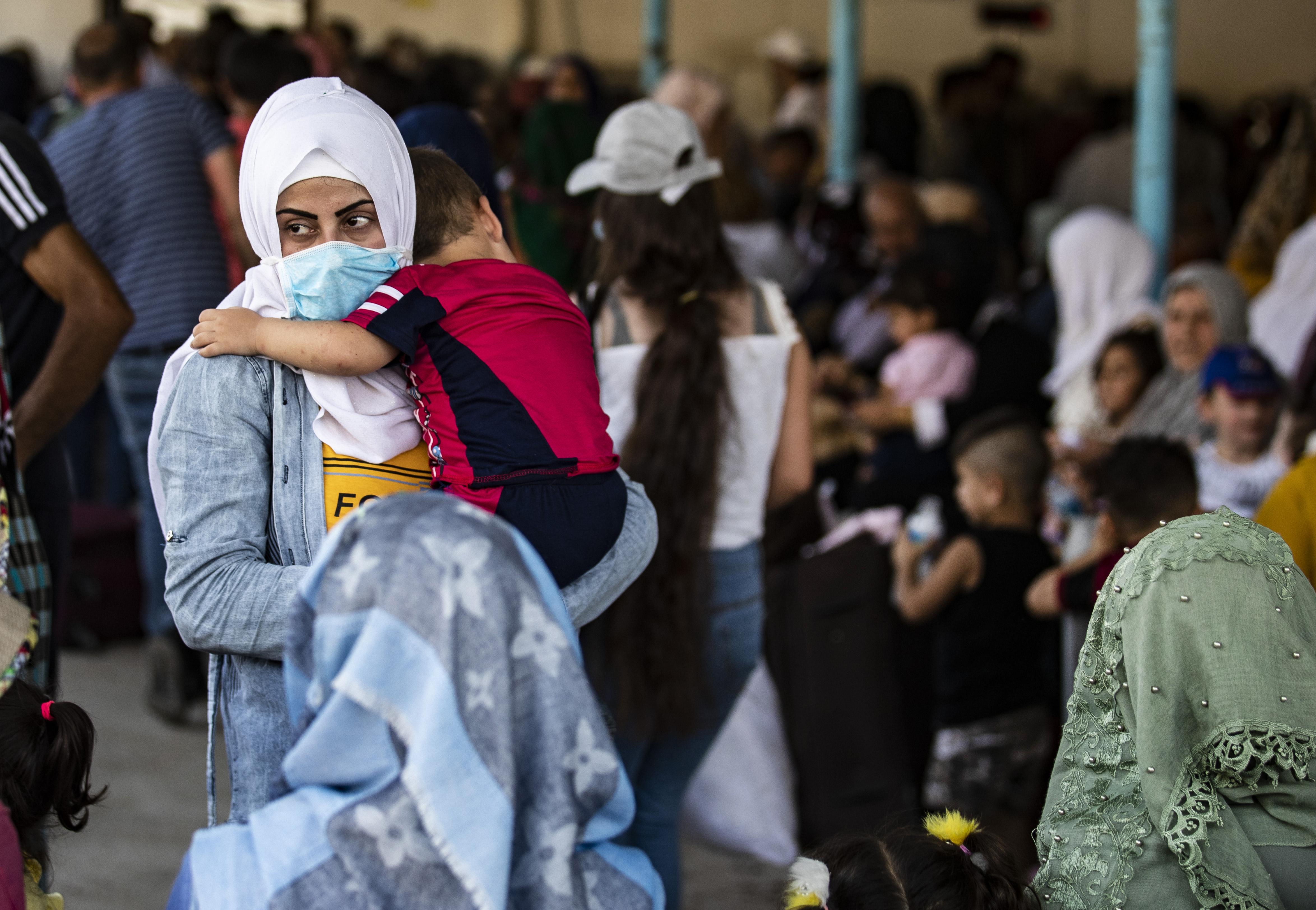 Hunderttausende Syrer*innen sind durch den Krieg vertrieben worden.