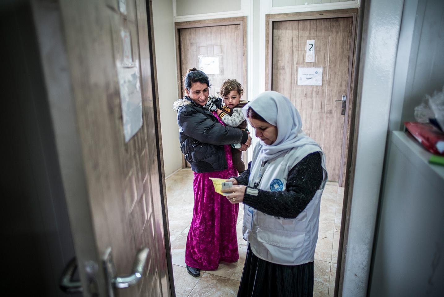 Ärzte der Welt Gesundheitseinrichtung im Irak