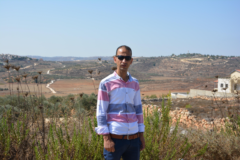 Der Aktivist Bashar Sadeq Moamar