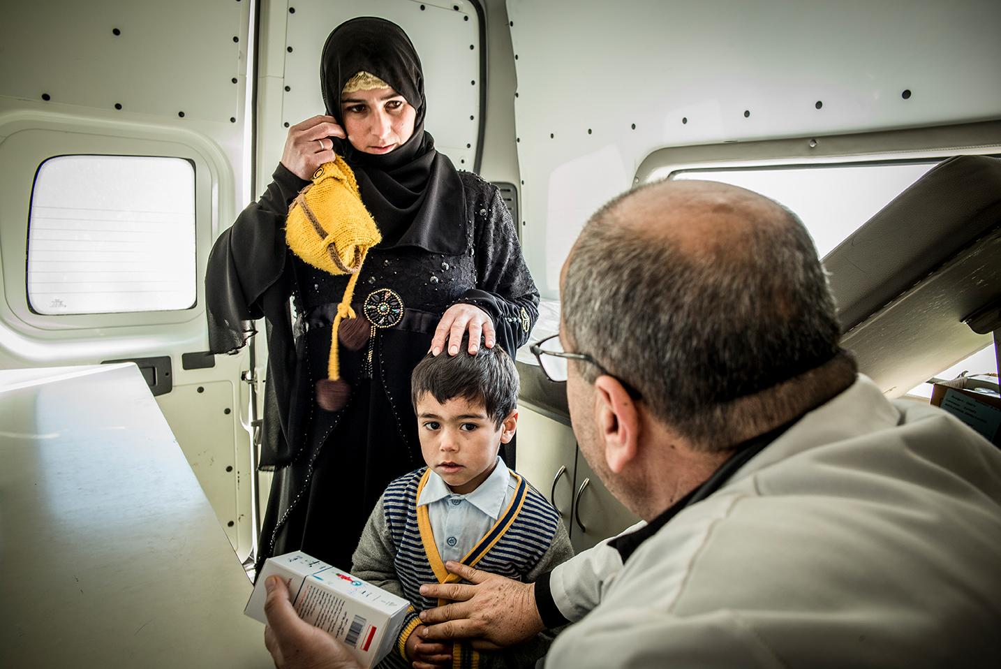 Ärzte der Welt im Einsatz mit mobiler Klinik im Libanon