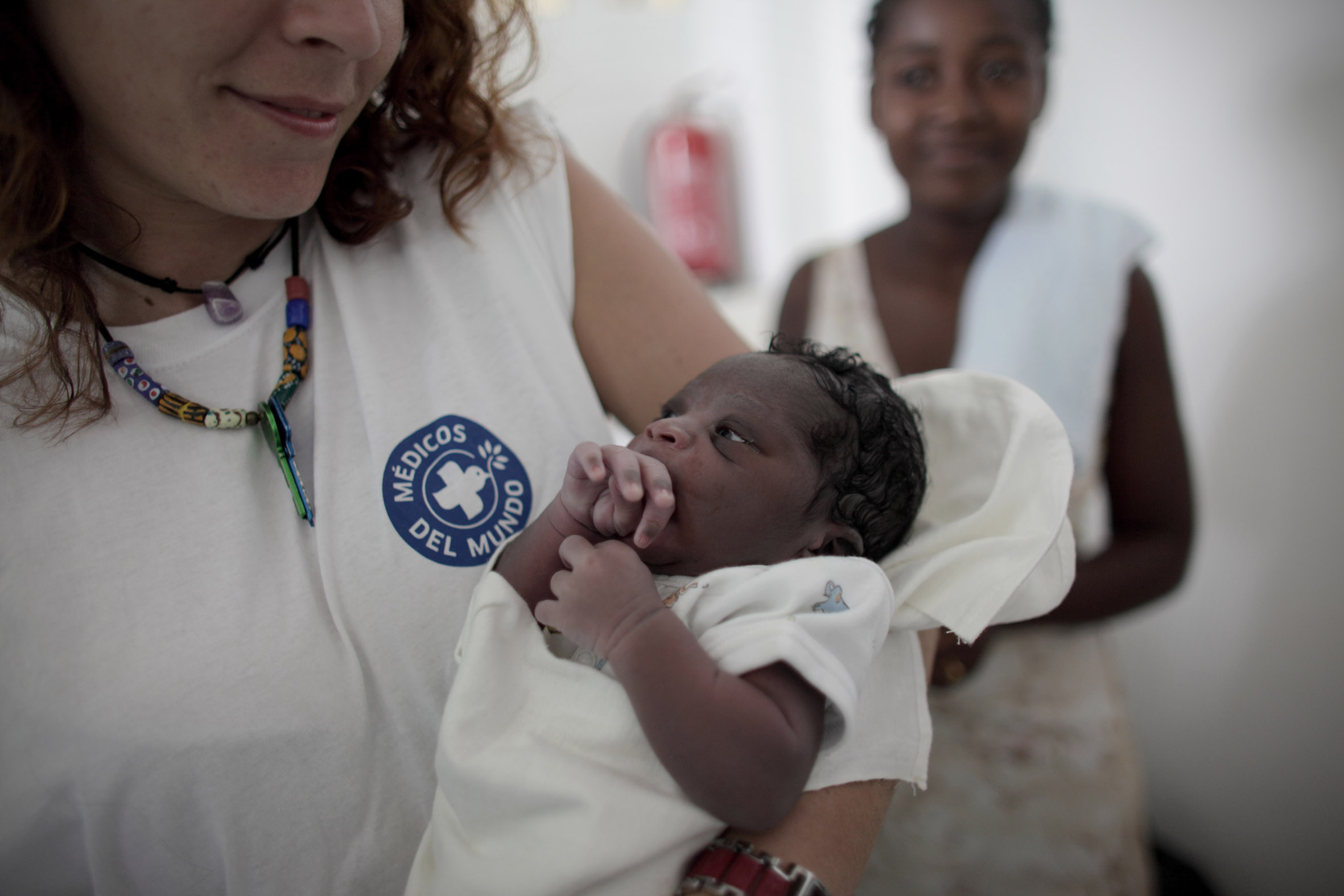 Mutter-Kind-Gesundheit in Haiti. Foto: Sophie Brandstrom