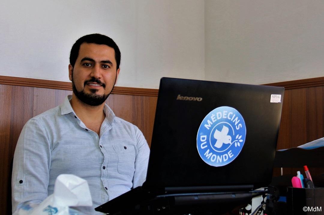 Dr. Edmun Rabban, medizinischer Koordinator, Projekte Irak. Foto: Ärzte der Welt