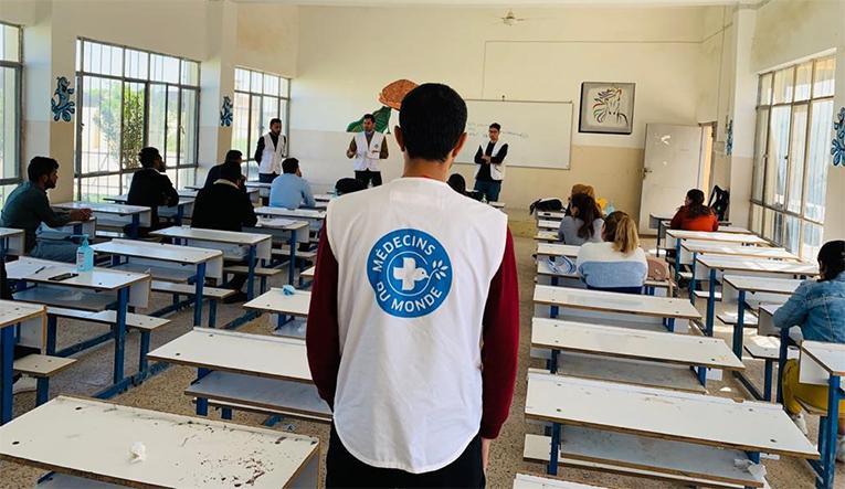 Schulung von Ärzte der Welt im Irak