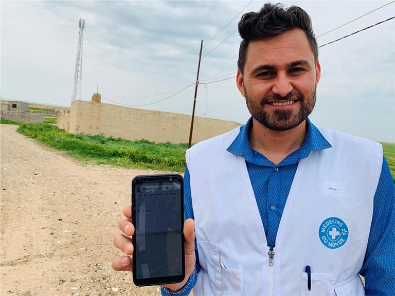 Ärzte der Welt-MItarbeiter im Irak