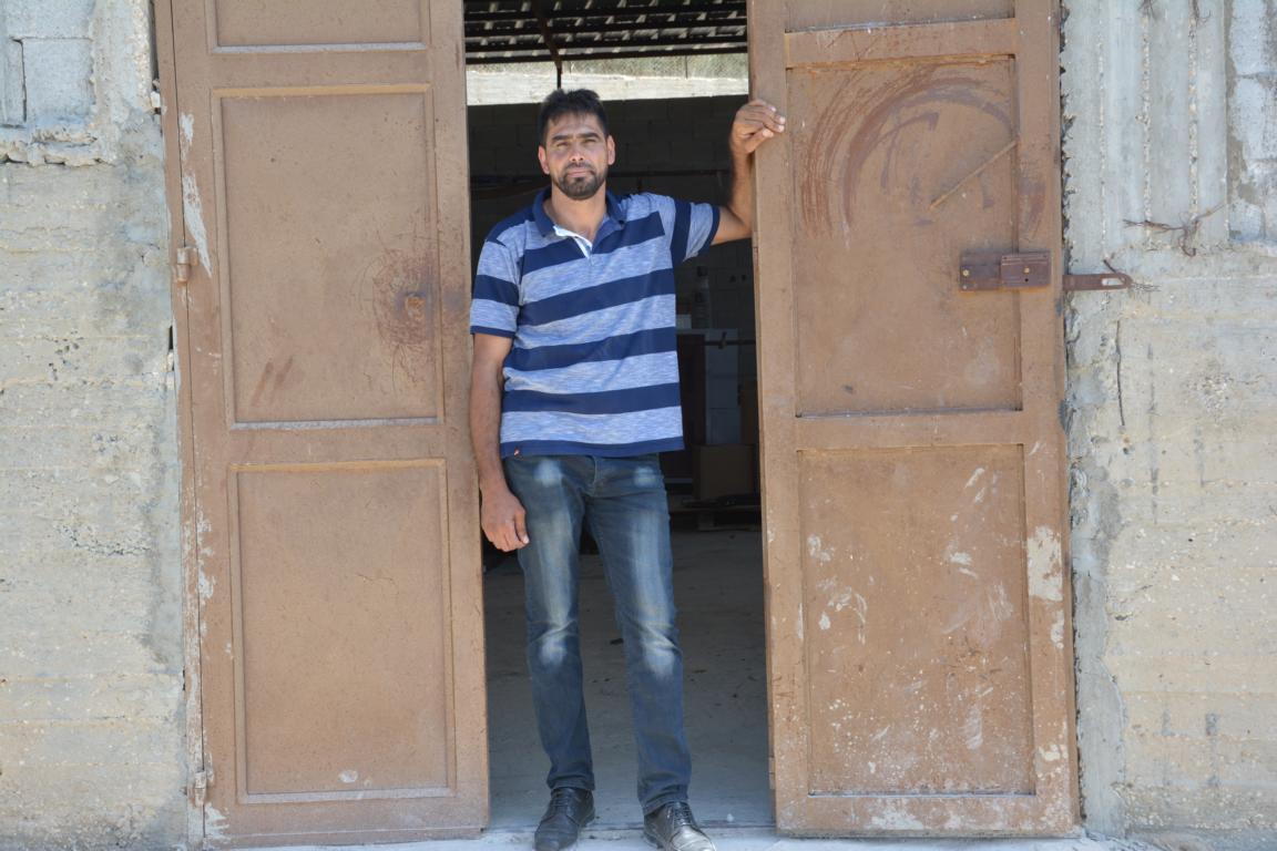 Brussly Dakheel Eid, Burin, Westjordanland. Foto: Ärzte der Welt