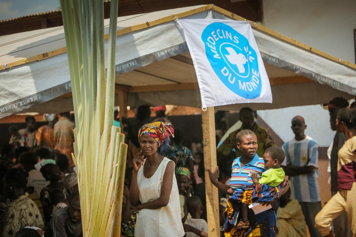 Gesundheitszentrum in der Zentralafrikanischen Republik