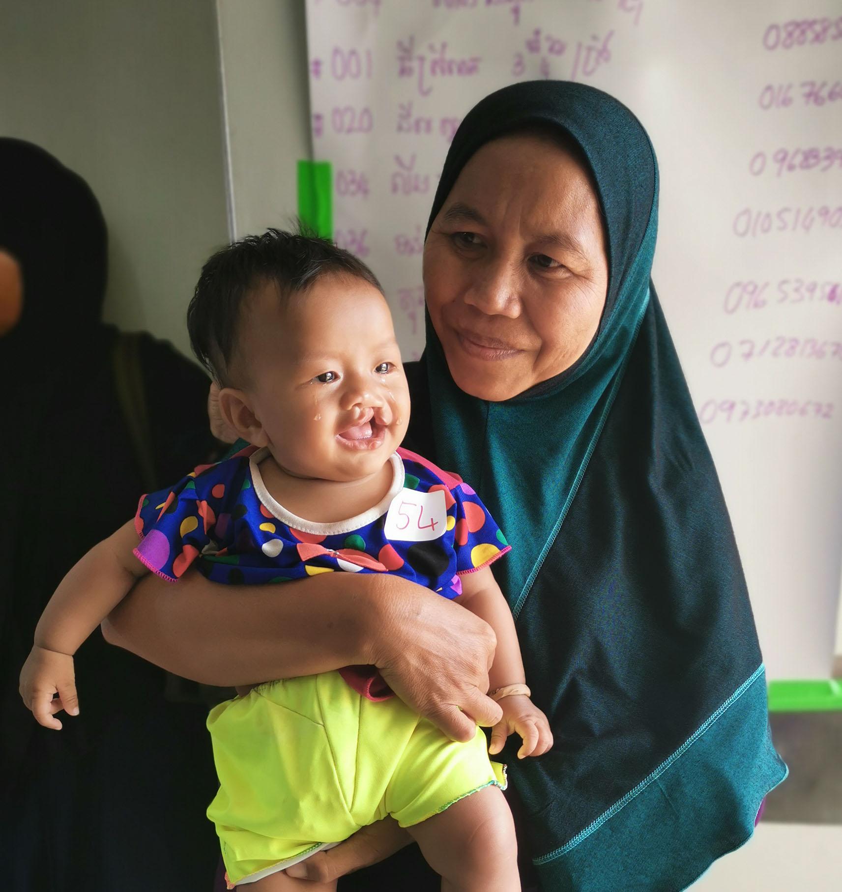 El Yesmy mit ihrer Mutter
