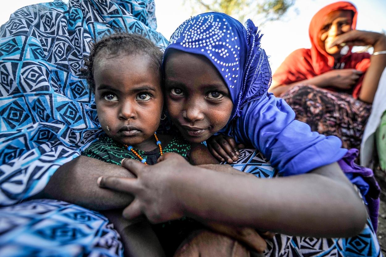 Im Kampf gegen Mangel- und Unterernährung helfen wir v.a. Frauen und Kindern in Äthiopien
