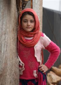 Im Jahresbericht 2018 berichten wir auch über die Menschen in den syrischen Flüchtlingscamps. Foto: AFP
