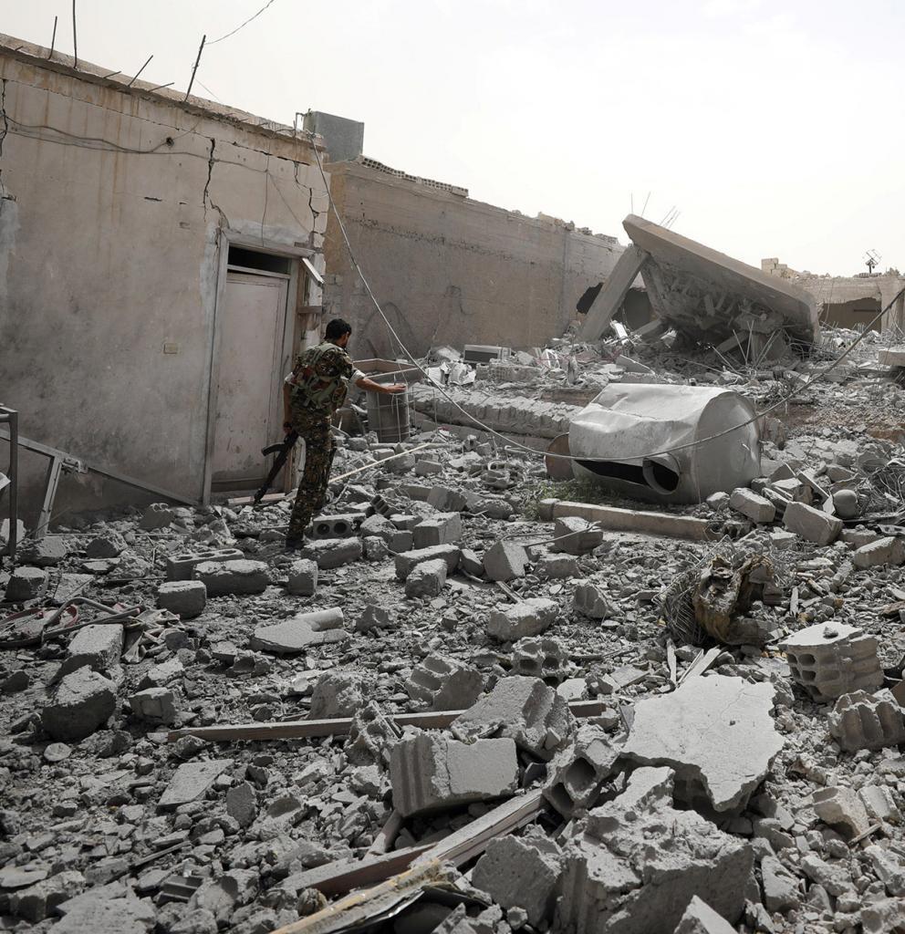 Soldat in Nordsyrien. Foto: Reuters