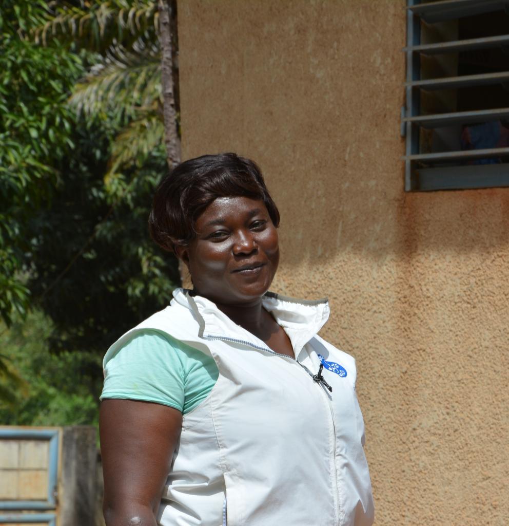 Annick Coulibaly koordiniert das Hebammenprojekt von Ärzte der Welt in Togo