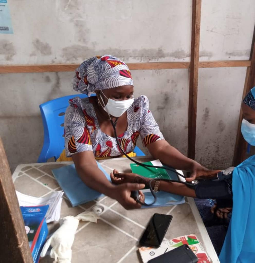 In manchen Regionen Nigerias bieten die Ärzte der Welt-Zentren die einzige medizinische Versorgung. Foto: Ärzte der Welt