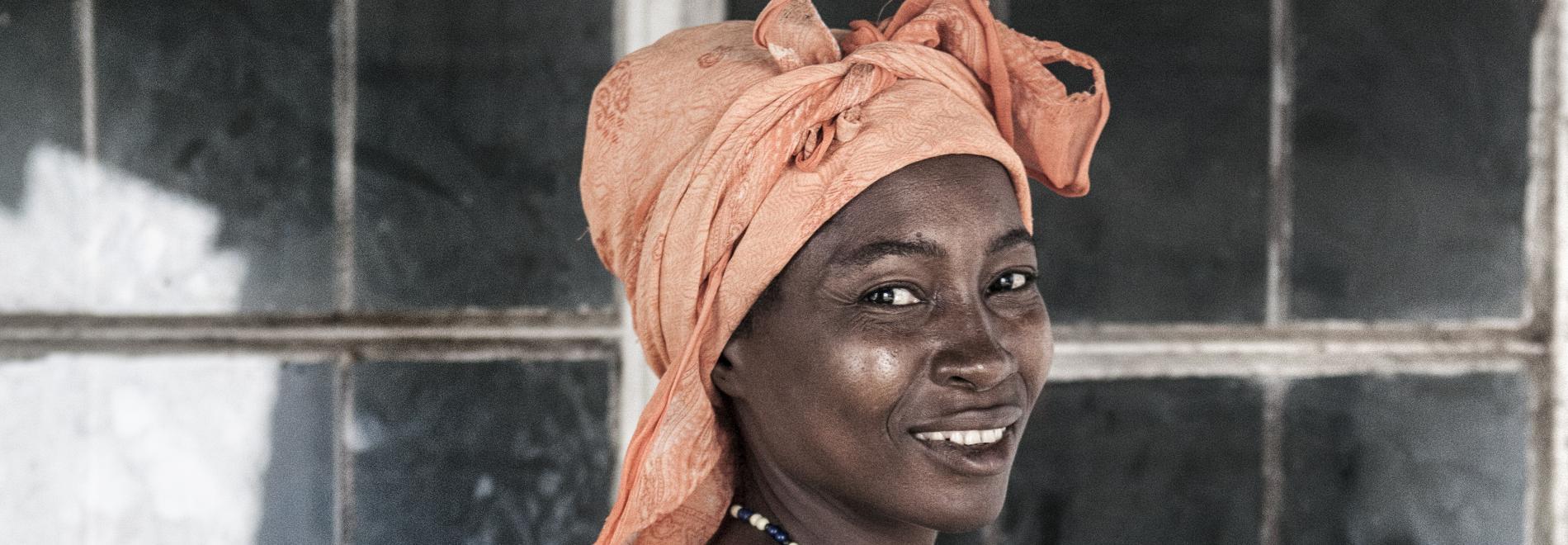 Mutter und Kind in Sierra Leone. Foto: Masja Stolk