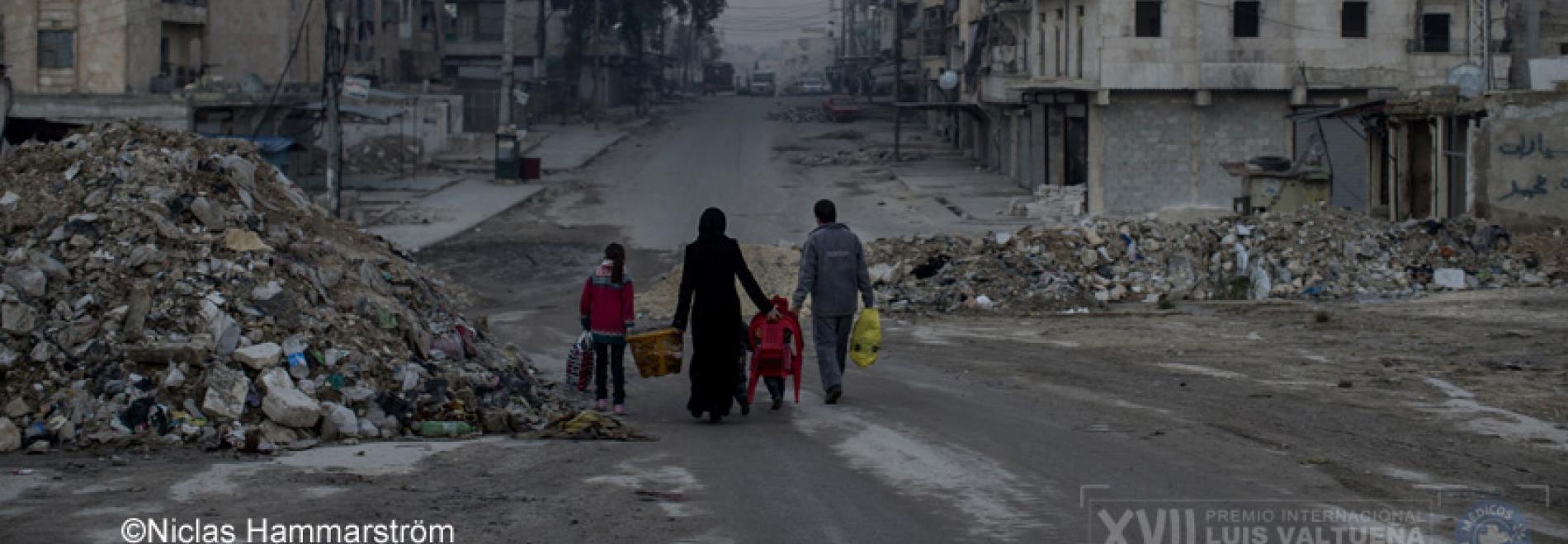Zivilisten in Aleppo müssen geschützt werden. Foto: Ärzte der Welt