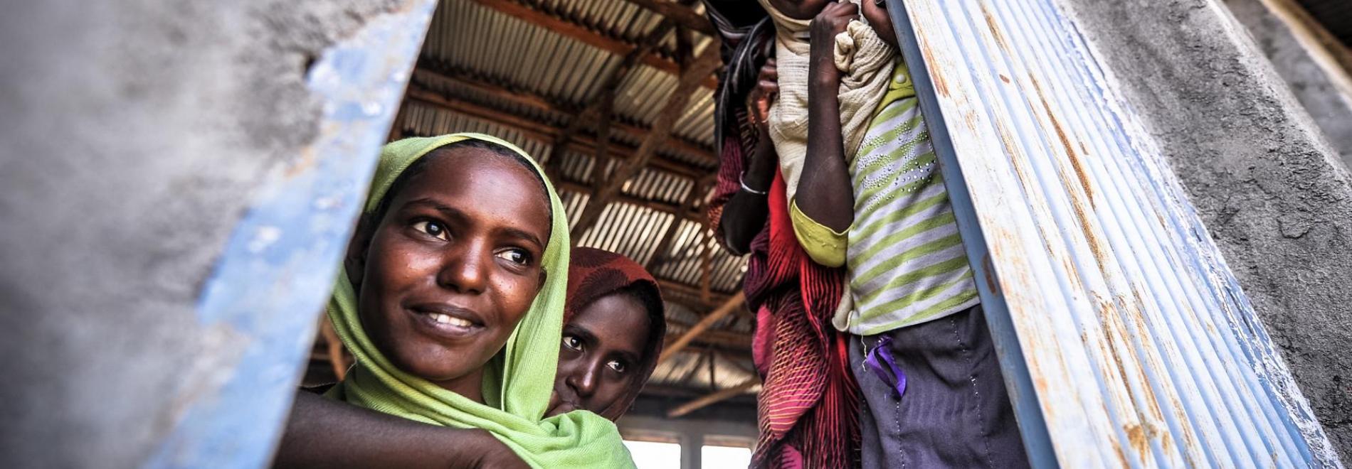 Mädchen in Äthiopien. Foto: Quentin Top
