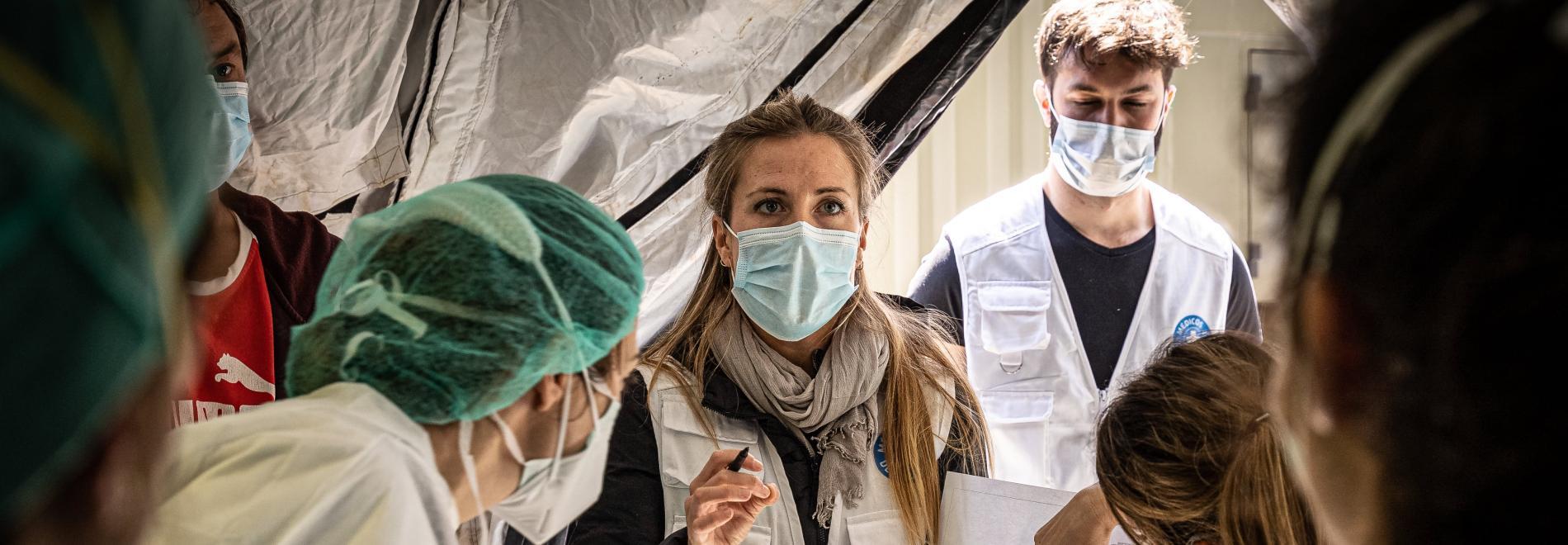 Von Anfang an helfen wir, die Pandemie einzudämmen.