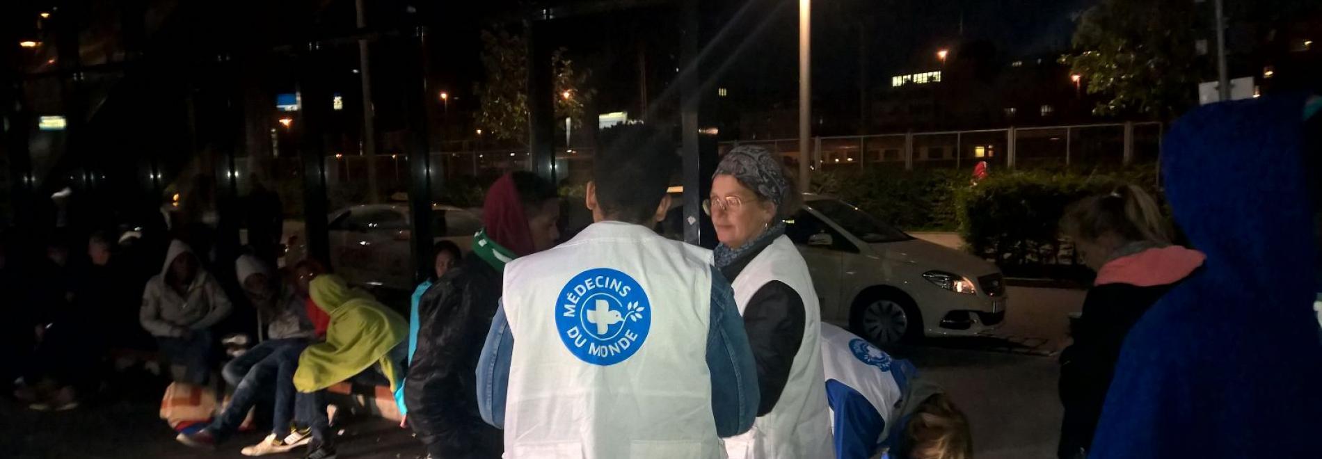 Zweimal pro Woche hilft Ärzte der Welt den nicht-registrierten Flüchtlingen in München mit medizinischer Basisversorgung. Foto: Ärzte der Welt
