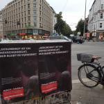 Etwa 12.000 Plakate werden in Berlin im Rahmen der Aktionwoche aufgehängt. Foto: Ärzte der Welt