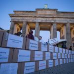 Demonstration für Gesundheitsversorgung in Deutschland. Foto: Walter Wetzler