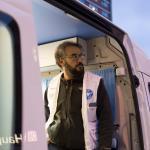 In München bietet der Behandlungsbus von Ärzte der Welt Menschen ohne Zugang zum Gesundheitssystem medizinische Versorgung an - vor Ort und unbürokratisch. Foto: Laura Schweizer