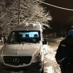 Im Münchner Kälteschutz können Patienten im Behandlungsbus versorgt werden. Foto: Ärzte der Welt