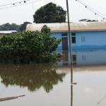 Überflutung in der Zentralafrikanischen Republik