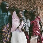 Mädchen in Nigeria