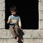 Ein Kind im Jemen