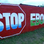 """""""Stop Ebola"""": Die Epidemie war im gesamten Land präsent"""
