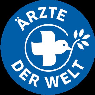 Das Ärzte der Welt-Logo in blau