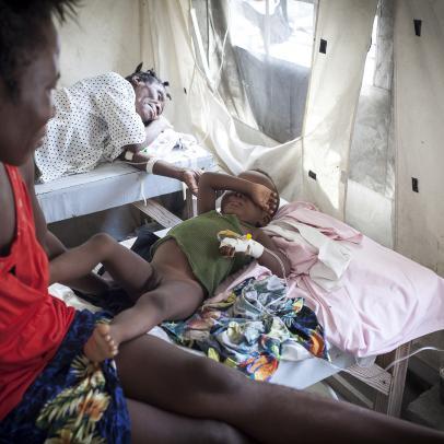 Hopital des Cayes - ©Siska Vandecasteele / MDM
