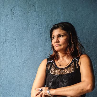 Portrait de Maria, promotrice de santé au Mexique