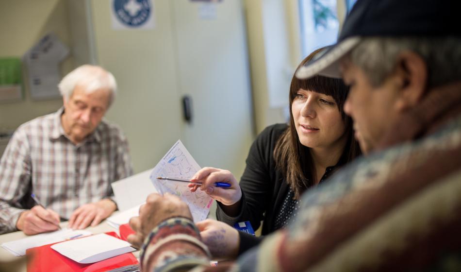 Ärzte der Welt versorgt gemeinsam mit dem Verein hoffnungsorte hamburg Menschen ohne Krankenversicherung. Foto: Bente Stachowske