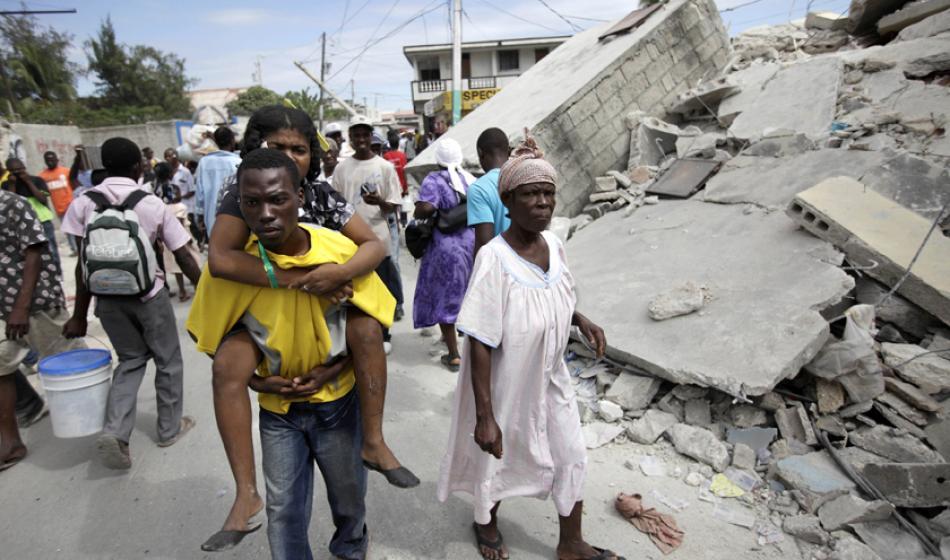 Ärzte der Welt leistet nach dem verheerenden Erdbeben auf Haiti Soforthilfe. Foto: Jorge Silva