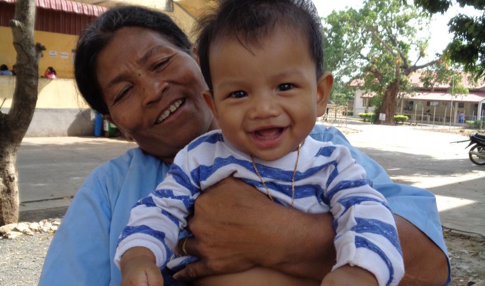 Aktion Lächeln: Ärzte der Welt schenkt Kindern in Kambodscha ihr Lächeln zurück. Foto: Ärzte der Welt