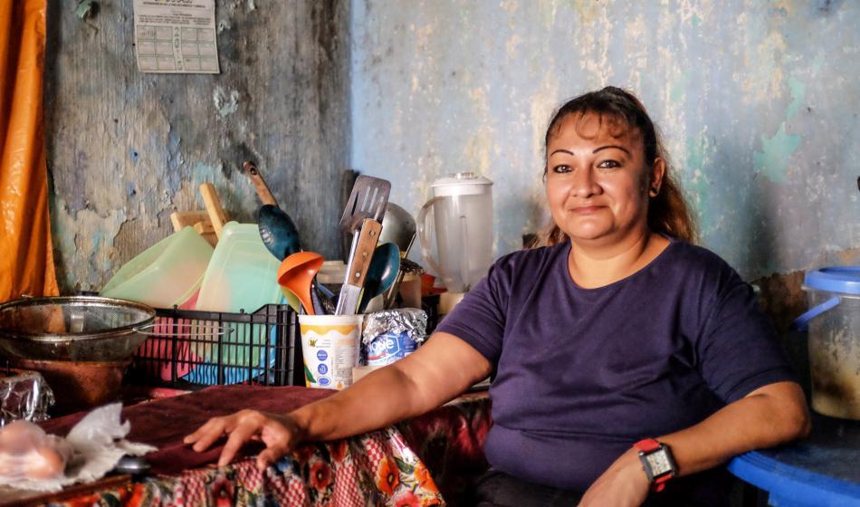 Glenda H. engagiert sich in Mexiko für Ärzte der Welt. Foto: Nadja Massun
