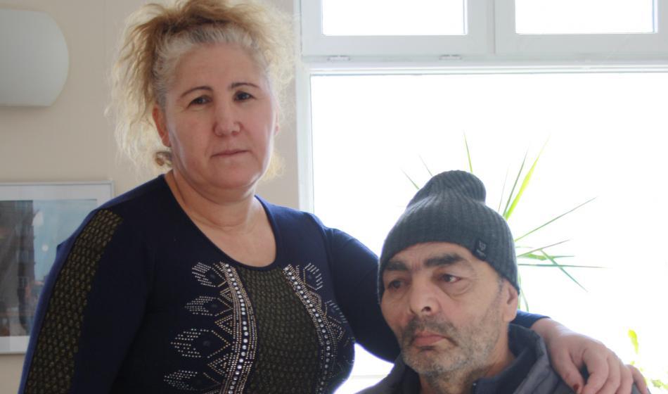 Ehepaar aus Bulgarien