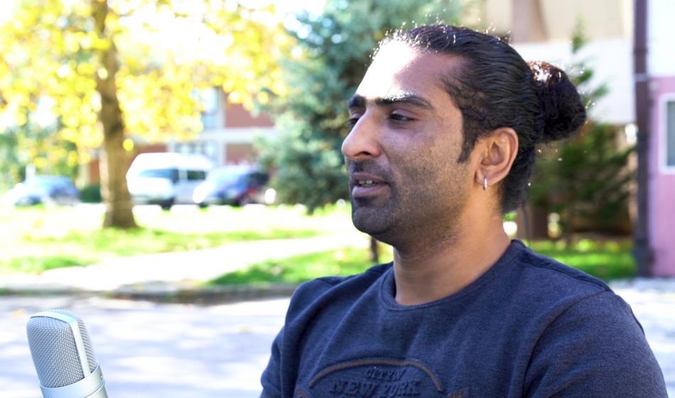 Malik Z., 36, aus Pakistan