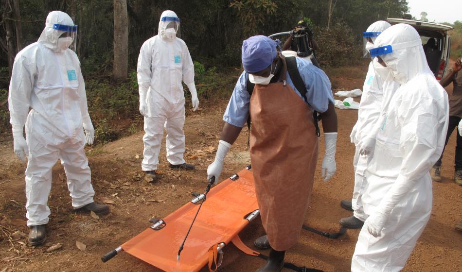 Sierra Leone: Ärzte der Welt unterstützt lokale Gesundheitsstrukturen, die von der Ebola-Epidemie betroffen sind. Foto: Nick Harvey
