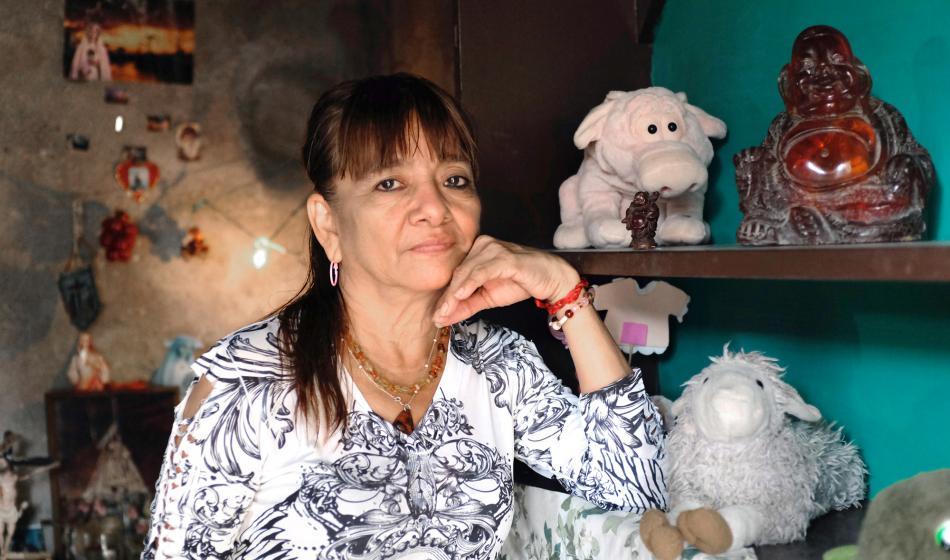 Teresa G. ist Gesundheitshelferin und unterstützt Frauen bei Behördengängen. Foto: Nadja Massun