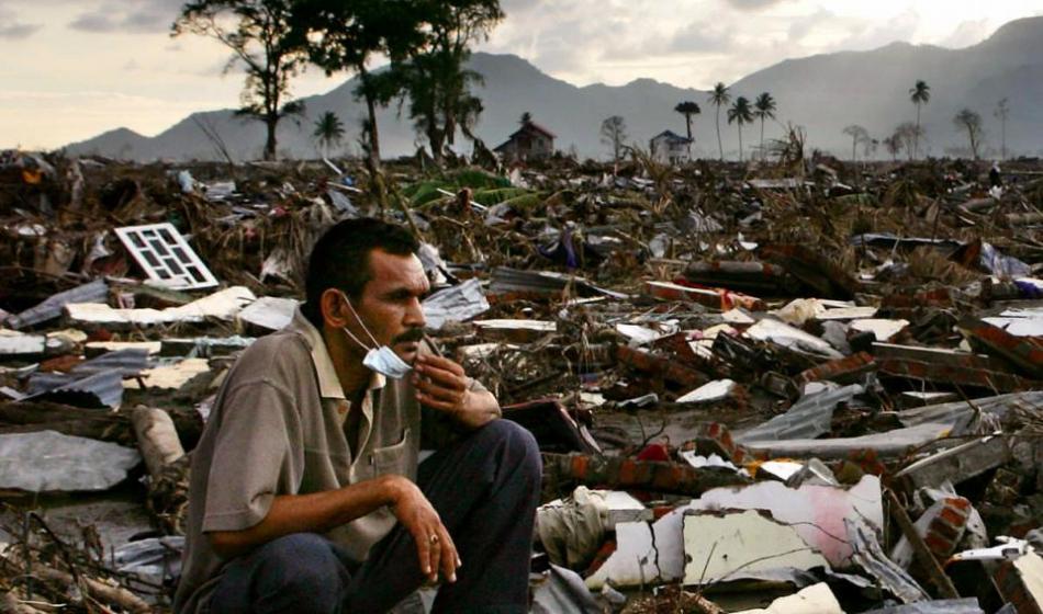 Verwüstung nach dem verheerenden Tsunami: Ärzte der Welt leistet Nothilfe und hilft beim Wiederaufbau. Foto: Ärzte der Welt