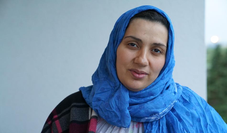 Wafaa Ladkani, 39, Syrien
