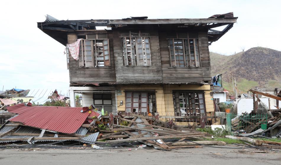 Der Taifun hat verheerende Folgen für philippinische Bevölkerung. Foto: Justine Roche