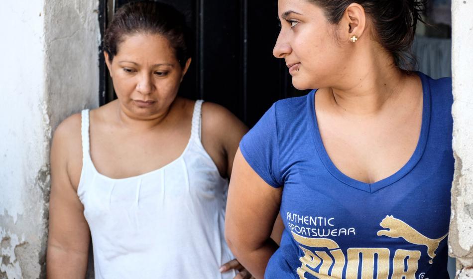 Jossye und Meliza engagieren sich mit Ärzte der Welt als Gesundheitshelferinnen in Mexiko.