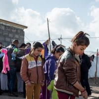 In den iraktischen Camps leben die Menschen dicht gedrängt.