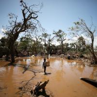Überflutungen in Mosambik
