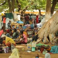 Vertriebe in der Zentralafrikanischen Republik