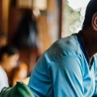 Im Norden Myanmars führt Ärzte der Welt ein Programm zur Hepatitis-C-Behandlung durch. Foto: Sébastien Duijndam