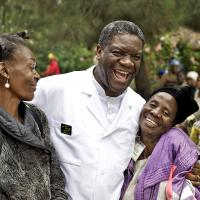 Friedensnobelpreisträger Denis Mukwege. Foto: Thierry Michel