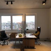 Neustart im Neuköllner Büro. Foto: Ärzte der Welt